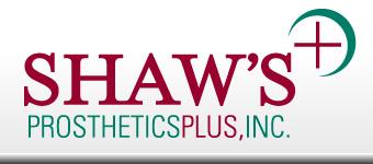 Shaw's Prosthetics Plus logo